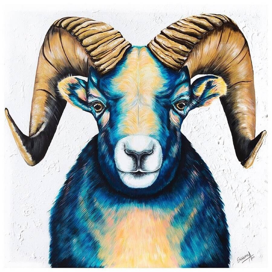 11-Bighorn-Sheep-Martin-Aveling-Animal-Portraits-www-designstack-co