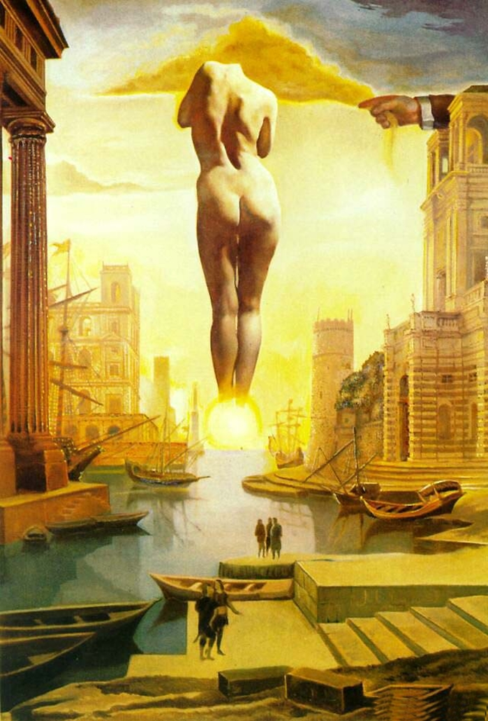 Salvador Dalì 1904-1989 | Surrealist painter and sculptor
