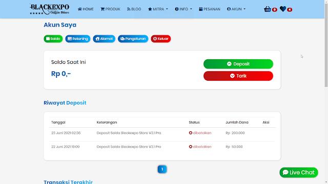 Aplikasi Web Toko Online Professional 3