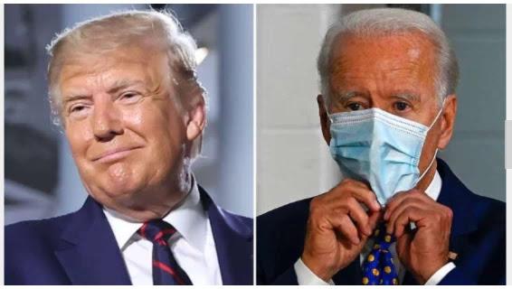 Trump, Biden clash fast over  COVID-19 response