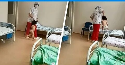 В туберкулезной больнице медсестра швырнулва малыша, хватала детей за волосы и толкала на кровать!