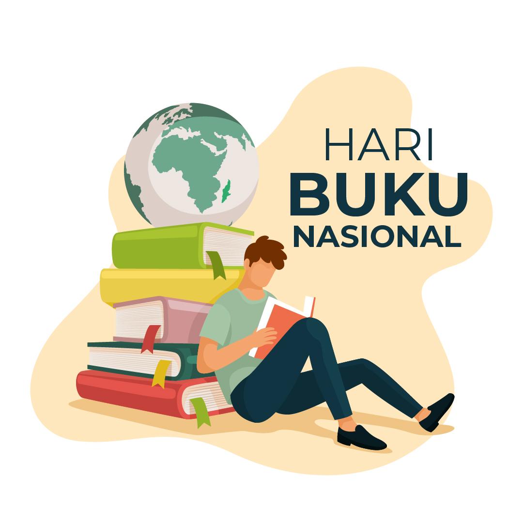 Gambar Ucapan Selamat Hari Buku Nasional 2021
