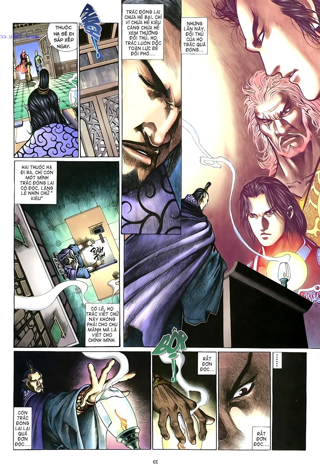 Anh hùng vô lệ Chap 17 trang 24