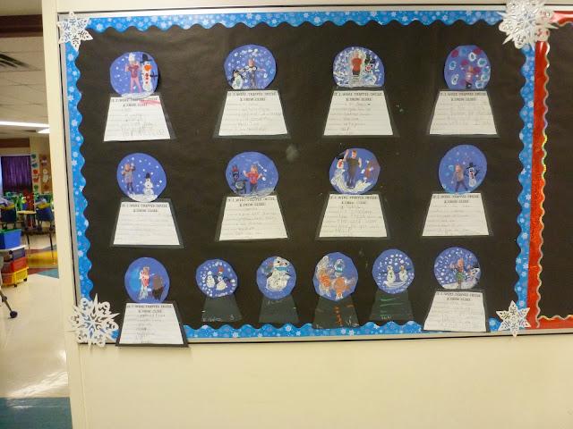 Winter Wonderland Classroom Decorations ~ Miss vanchu s classroom winter wonderland
