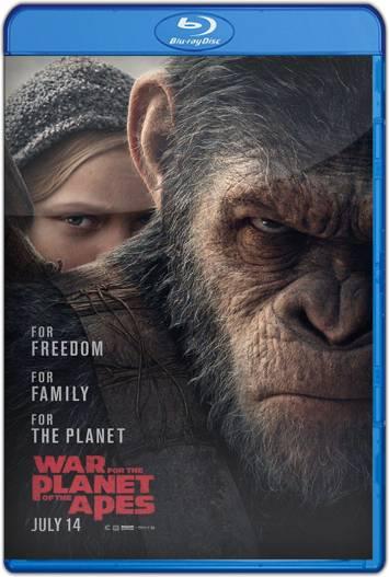 El planeta de los simios: La guerra (2017) HD 1080p y 720p Latino
