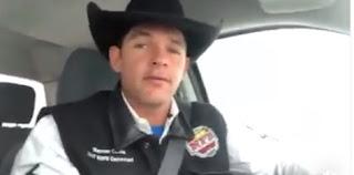 Iretama: Campeão Marcos Costa grava vídeo parabenizando vereadores pela aprovação do Projeto que institui o Rodeio 25 de Julho