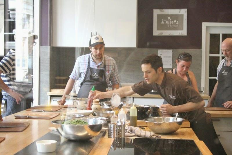 Un cours de cuisine chez ateliers saveurs for Atelier cuisine montreal