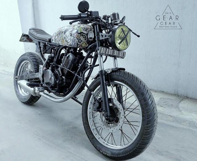 Gear-Gear Motorcycles' Cafe Racer
