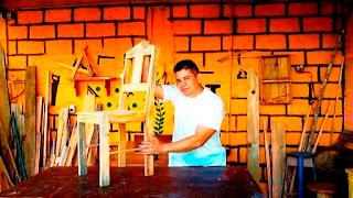 Silla de madera para niño o niña- Elaborada por Jogly Sú