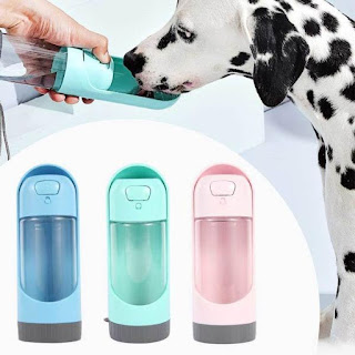 The pet water bottle is safe, easy to use, and unbreakable