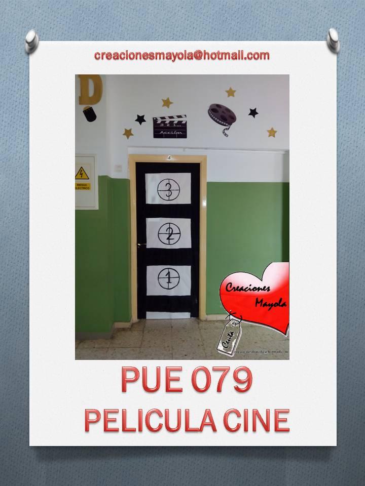 Creaciones mayola puertas escolares decoraci n cine for Decoracion de puertas escolares