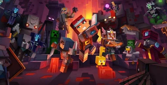 Letak Lokasi Semua Rune di Minecraft Dungeons