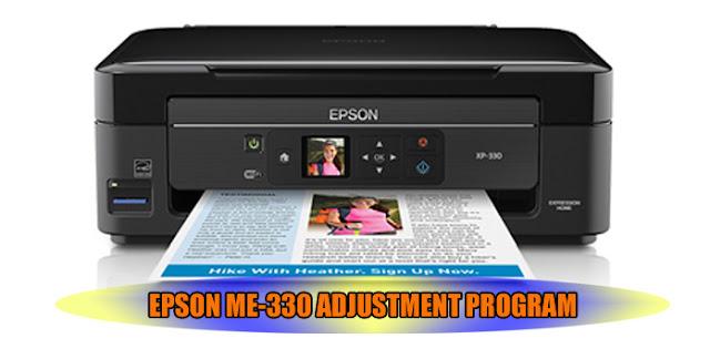 EPSON ME-330 PRINTER ADJUSTMENT PROGRAM
