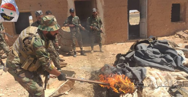 syrian-pro-government-forces-chase-isis-cells-in-eastern-homs