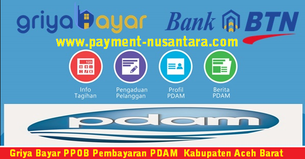 Cara Daftar Griya Bayar PPOB Pembayaran PDAM  Kabupaten Aceh Barat