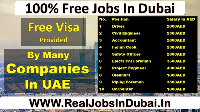 Dubai Many Jobs | Civil Engineer Jobs In Dubai | Sales Jobs In Dubai |
