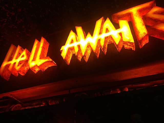 Hell Awaits bar Barcelona