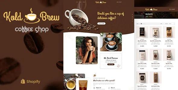 Best Coffee Shop Shopify Theme