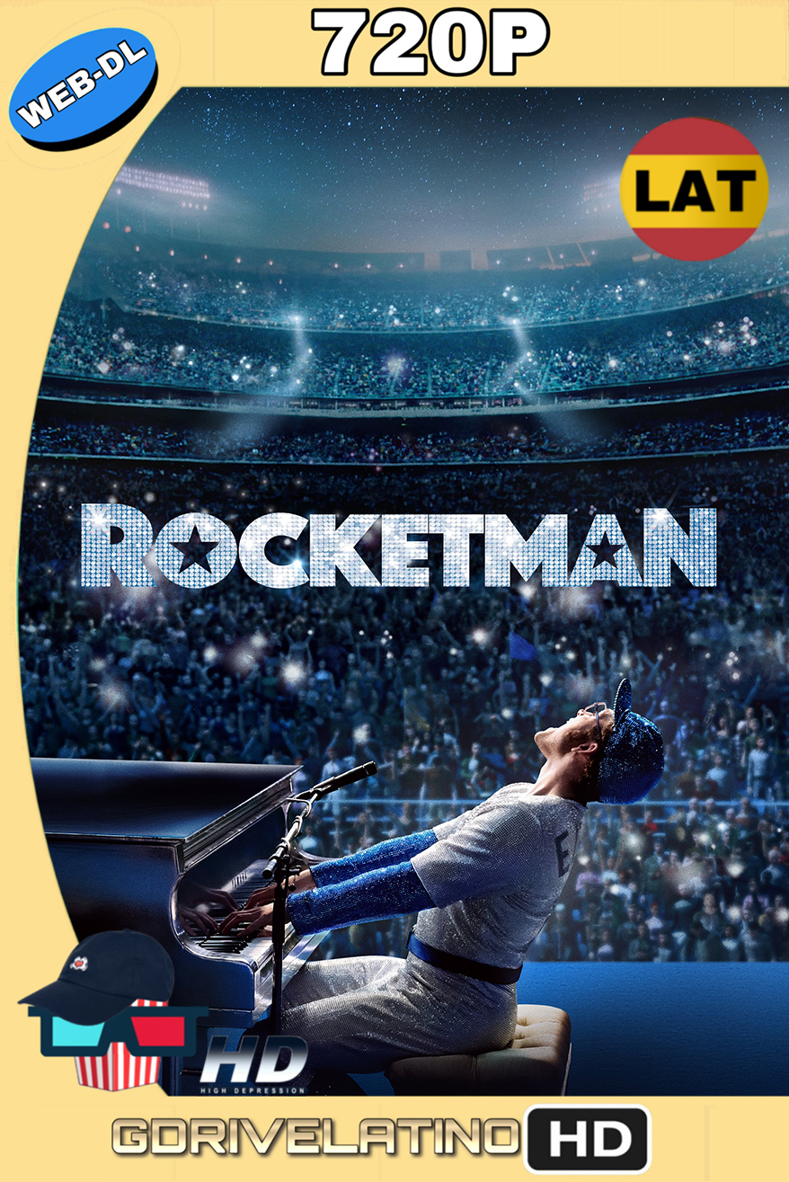 Rocketman (2019) WEB-DL 720p (Latino-Inglés) MKV