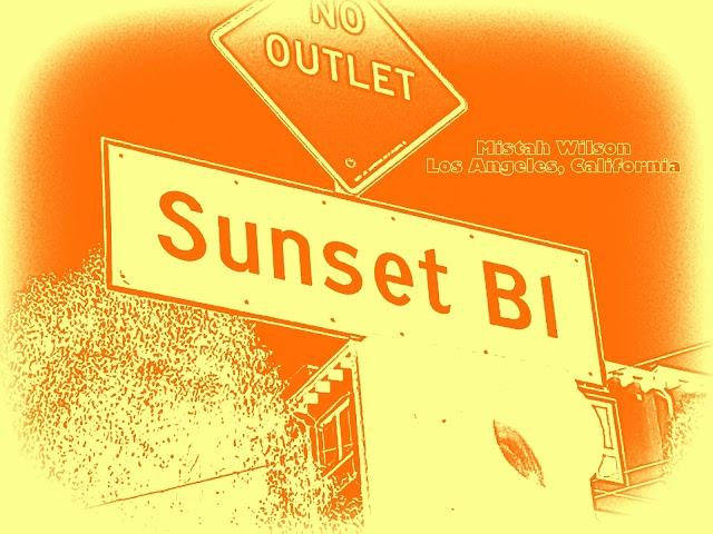 Sunset Boulevard, Los Angeles, California SUNSET PRALINE by Mistah Wilson