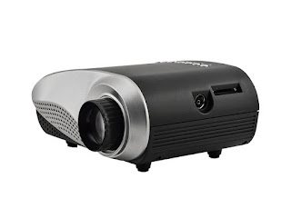 SainSonic Mini LED Portable Projector