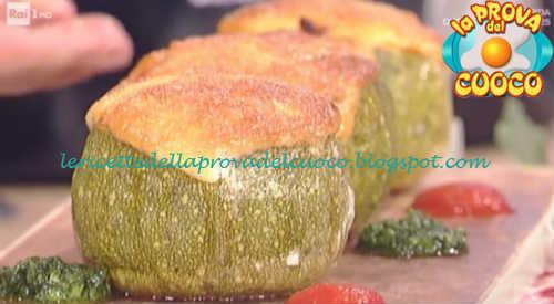 Prova del cuoco - Ingredienti e procedimento della ricetta Calabacines rellenos di David Povedilla