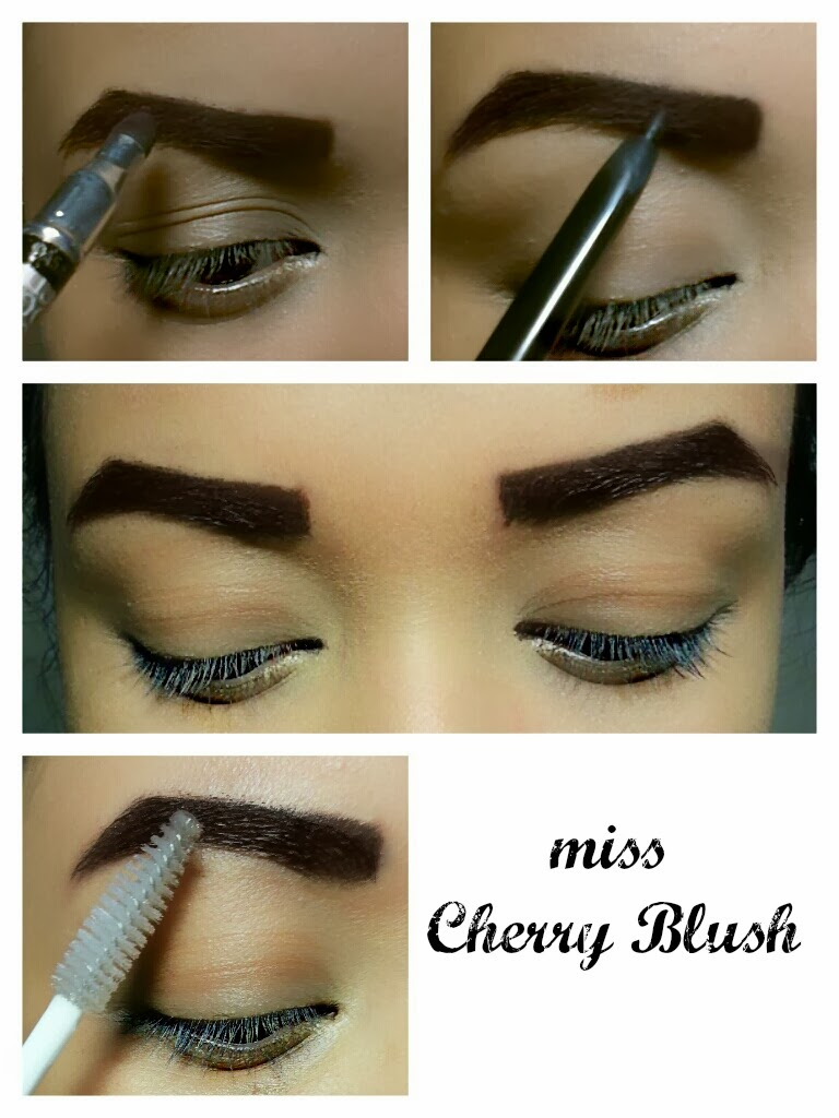 Miss Cherry Blush: HOW TO SHAPE YOUR EYEBROWS.