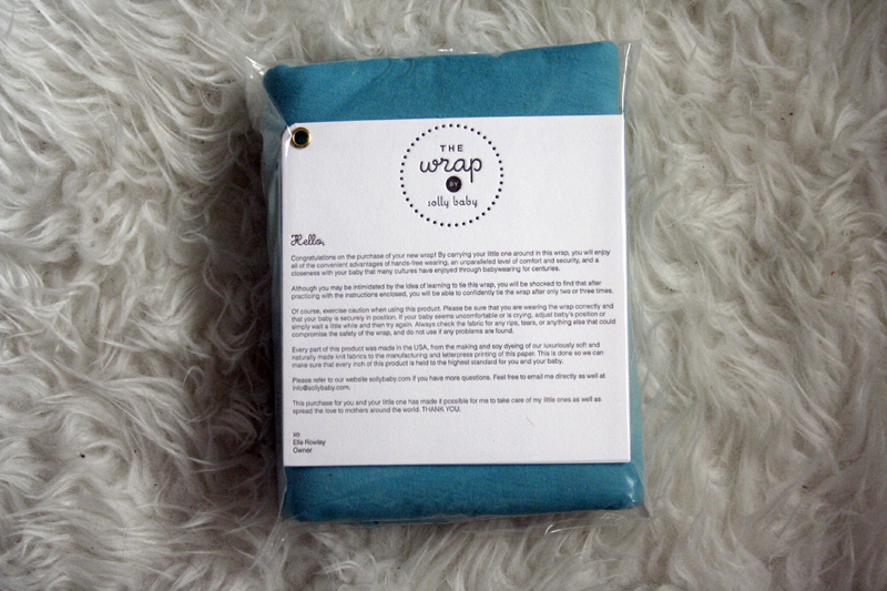 Refreshingly Sacred Solly Baby Wrap Review