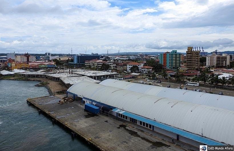 Panamá, quarta parada do navio - Diário de bordo: Cruzeiro pelo Caribe