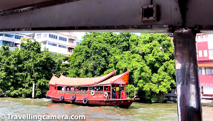 We got to know about boating tour option on last day otherwise we would have made best use of day pass for Chao Phraya River boating tour.