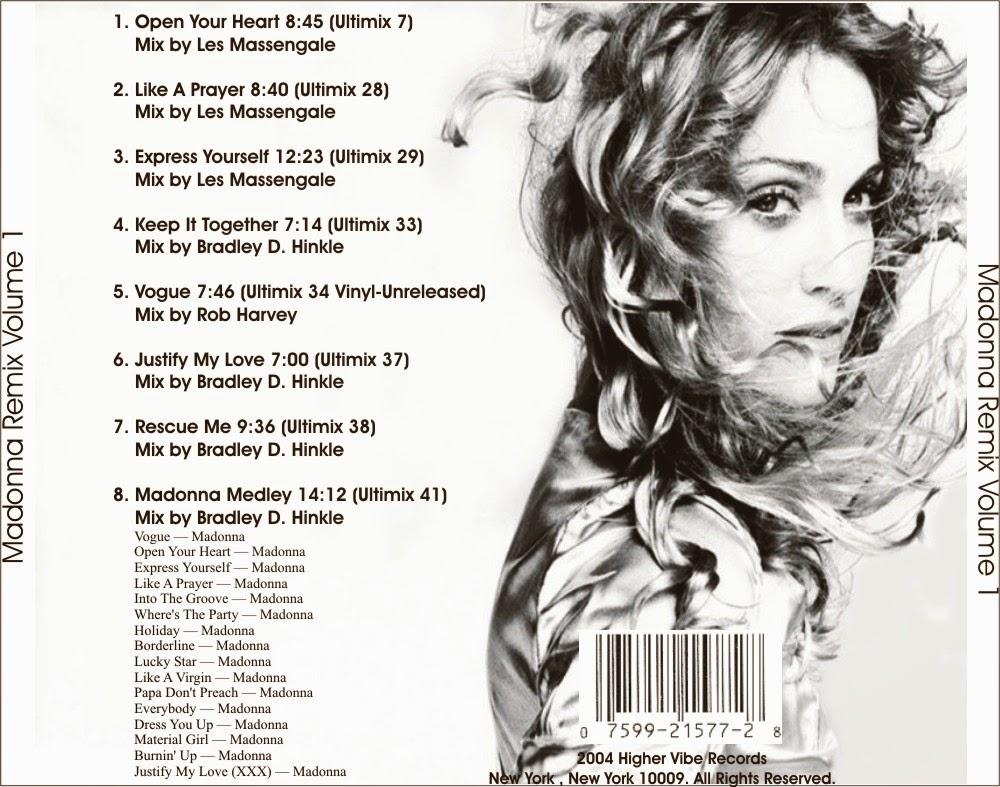 DJ Mix Retro Rewind: Madonna Remix Service 1