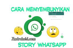 Cara Menyembunyikan Story di WhatsApp