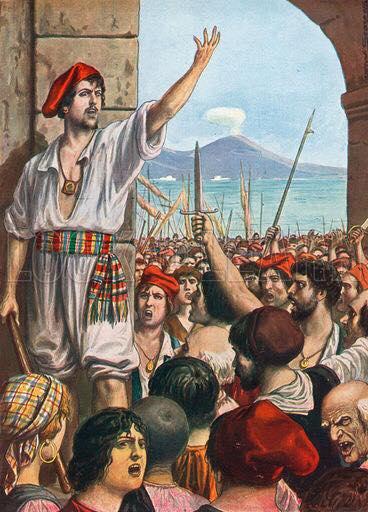 Accadde Oggi, Muore Masaniello, il rivoluzionario partenopeo.
