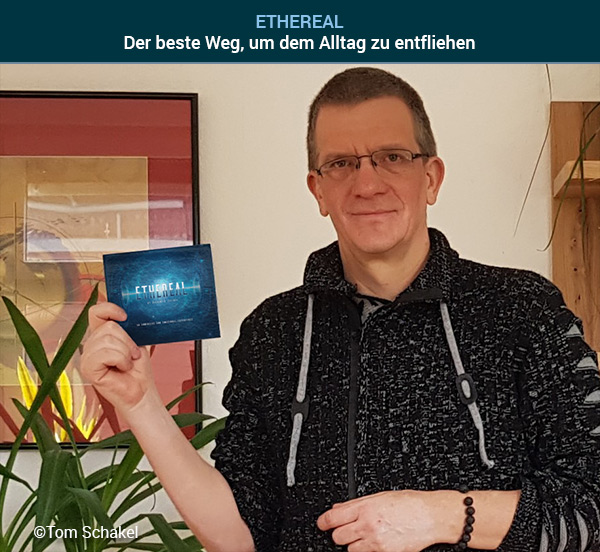 Tom Schakel mit dem Album ETHEREAL von Sequentia Legenda