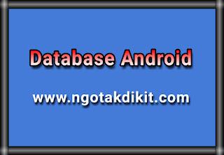 Cara Menginstall SQLite Dan MySQL Di Android