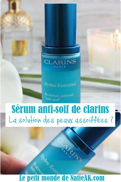 avis sérum anti-soif Clarins