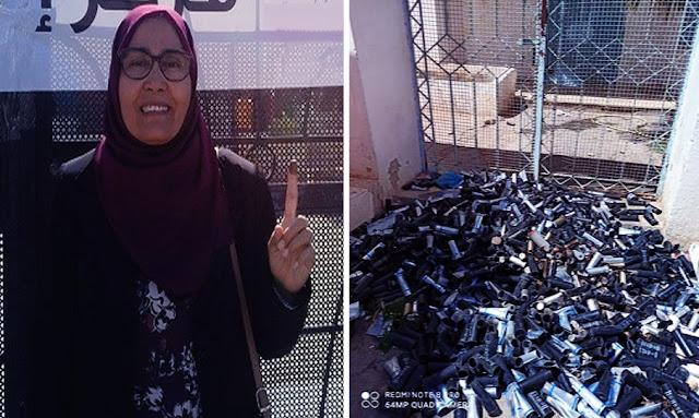 النائبة جميلة الجويني: الأمن استعمل غازا محرّما دوليا في تطاوين