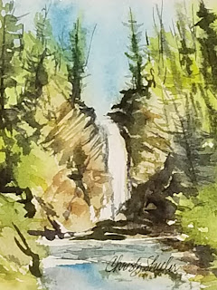 Sunday at Mill Falls © 2021 Christy Sheeler Artist