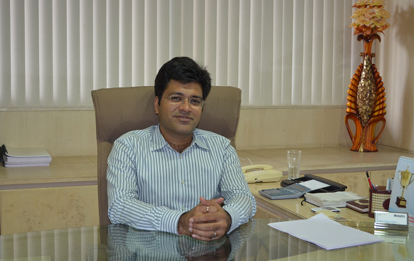 Mr Deepak Chiripal, CEO, Nandan Denim Ltd