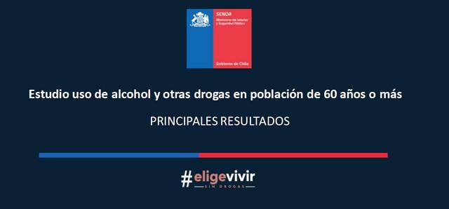 Estudio sobre consumo de drogas y alcohol en personas mayores