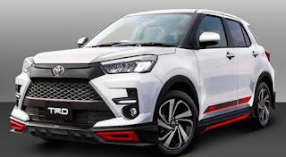 Spesifikasi dan Harga Toyota Raize