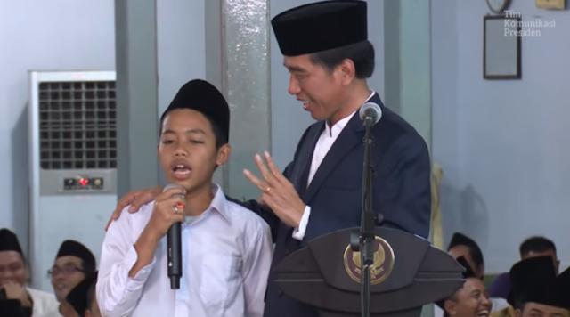 Dulu Ditertawakan, Ucapan Santri Ini Terbukti, Prabowo Menteri Jokowi