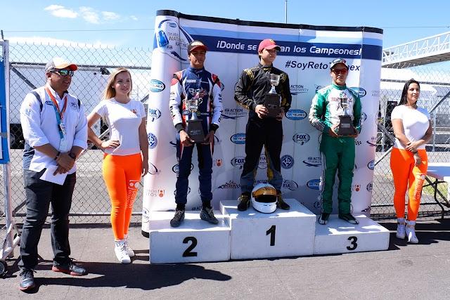 En Amozoc Juan Reyes sorprende y se apunta la victoria de FIA México  Reto Telmex.