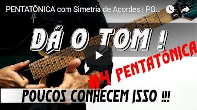 pentatônica guitarra