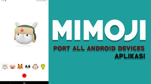 Download Aplikasi Mimoji untuk Android All Devices