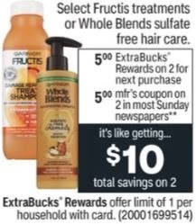 Garnier Whole Blends Sulfate