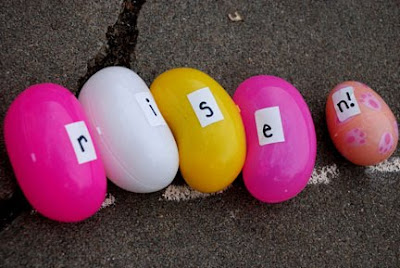 He is risen egg hunt