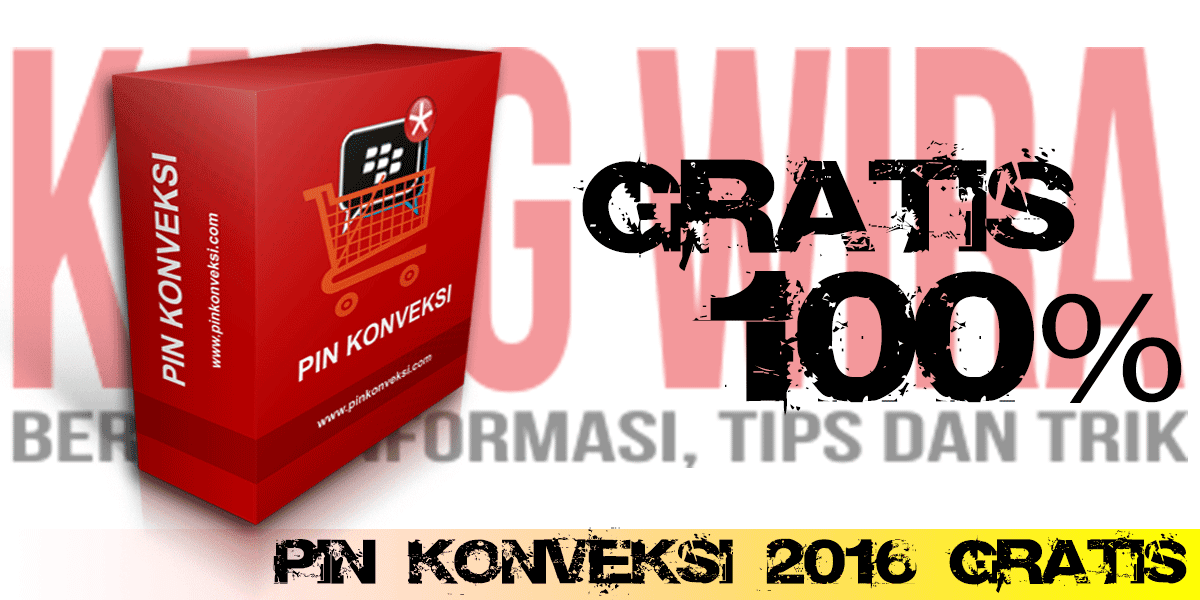 Download PIN Konveksi 2016 Gratis
