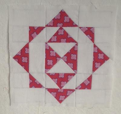 Blok A2 Dear Jane quilt