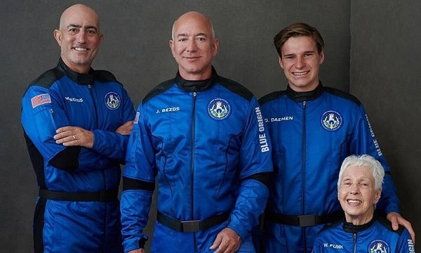 Jeff Bezos, Has Embarked on a Space Trip in His Personal Rocket